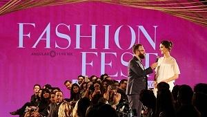 Blanca Padilla es la imagen del Liverpool Fashion Fest Primavera Verano 2018 p