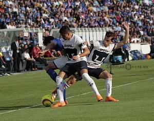 Cruz Azul empata 1-1 en el ultimo minuto ante Pumas en la jornada 12 del apertura 2018 (1)