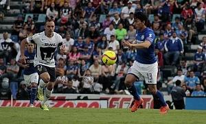 Cruz Azul empata 1-1 en el ultimo minuto ante Pumas en la jornada 12 del apertura 2018 (4)