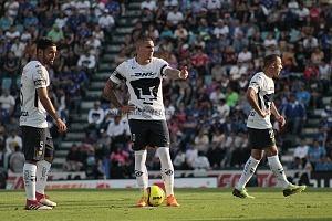 Cruz Azul empata 1-1 en el ultimo minuto ante Pumas en la jornada 12 del apertura 2018 Nicolas Castillo Jugador de Pumas Previo al penal