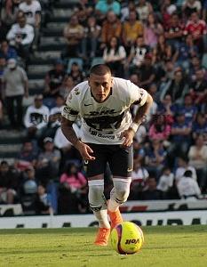 Cruz Azul empata 1-1 en el ultimo minuto ante Pumas en la jornada 12 del apertura 2018 Nicolas Castillo Jugador de Pumas cobrando el penal