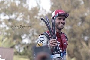 Daniel Abt de la escudería Audi Sport Abt Schaeffler,se corono campeón del E Prix Ciudad de México 2018 premiación