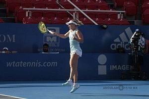 Daria Gavrilova en el Abierto Mexicano 2018 en semifinales 1