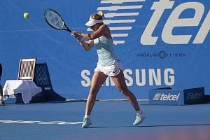 Daria Gavrilova en el Abierto Mexicano 2018 en semifinales 3