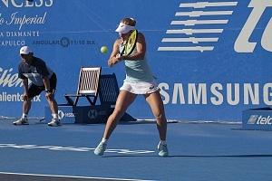 Daria Gavrilova en el Abierto Mexicano 2018 en semifinales