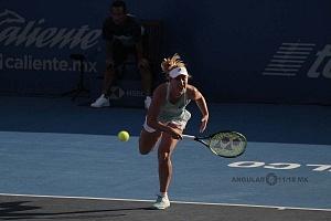 Daria Gavrilova en el Abierto Mexicano 2018 en semifinales 5