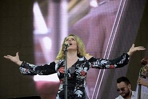 Festival EuroJazz 2018 cantante Hanne Tveter Quinteto 2