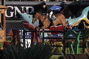 Finaliza el Gran Premio Ciudad de México del Longines Global Champion Tour México 2018 AM