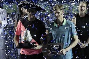 Juan Martín del Potro campeon del Abierto Mexicano de Acapulco 2018 en la Final 1