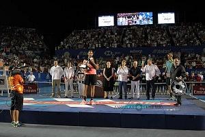 Juan Martín del Potro campeon del Abierto Mexicano de Acapulco 2018 en la premiación