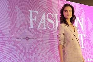 La Top Model Internacional Blanca Padilla en conferencia de prensa en la ciudad de México 10
