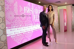 La Top Model Internacional Blanca Padilla en conferencia de prensa en la ciudad de México 11