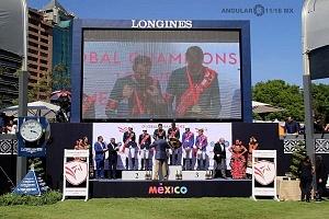 Longines Global Champion Tour México 2018 Premiación por Equipos