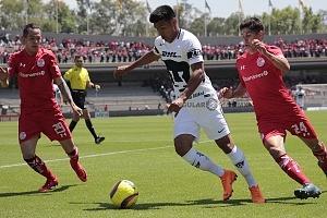 Los Pumas Pierden en los ultimos minutos frente al Toluca 1-0 en la jornada 11 del torneo apertura 2018 (3)