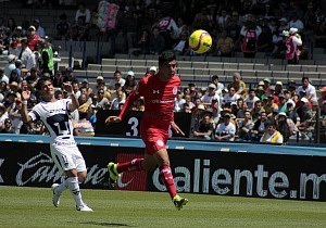 Los Pumas Pierden en los ultimos minutos frente al Toluca 1-0 en la jornada 11 del torneo apertura 2018