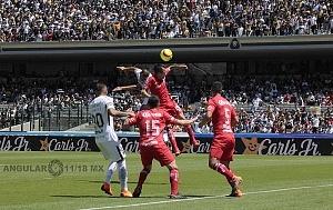 Los Pumas Pierden en los ultimos minutos frente al Toluca 1-0 en la jornada 11 del torneo apertura 2018 (9)