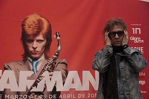 MIck Rock Inaugura Oficialmente en México la Exposición STARMAN del mítico David Bowie 1
