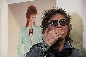 MIck Rock Inaugura Oficialmente en México la Exposición STARMAN del mítico David Bowie 10