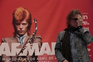 MIck Rock Inaugura Oficialmente en México la Exposición STARMAN del mítico David Bowie 2