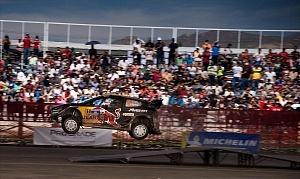 Mundial de Rally Guanajuato México 2018 auto 1 piloto Sebastian Ogier.