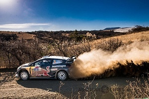 Mundial de Rally Guanajuato México 2018 auto numero 3 bajada