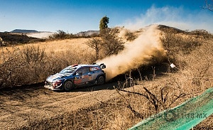 Mundial de Rally Guanajuato México 2018 auto numero 6 piloto Dany Sordo (1)