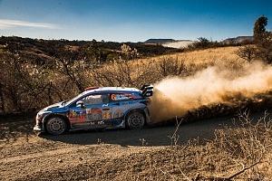 Mundial de Rally Guanajuato México 2018 auto numero 6 piloto Dany Sordo