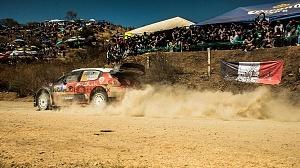 Mundial de Rally Guanajuato México 2018 escudería CITROEN TOTAL ABU DHABI WRT etapa el brinco 1