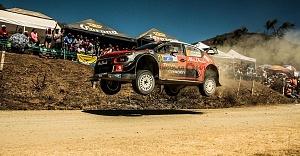 Mundial de Rally Guanajuato México 2018 escudería CITROEN TOTAL ABU DHABI WRT etapa el brinco