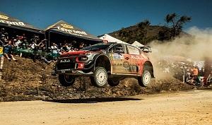 Mundial de Rally Guanajuato México 2018 escudería CITROEN TOTAL ABU DHABI WRT etapa el brinco auto mumero 11