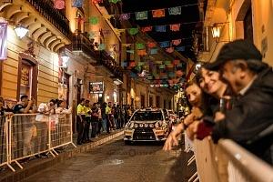 Mundial de Rally Guanajuato México 2018 etapa callejera