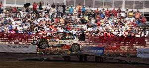 Mundial de Rally Guanajuato México 2018 etapa de Pista