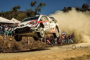 Mundial de Rally Guanajuato México 2018 etapa el brinco