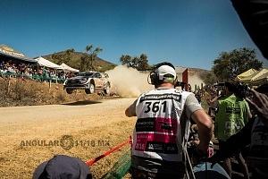 Mundial de Rally Guanajuato México 2018 etapa el brinco auto mumero 1 piloto Sebastian Ogier