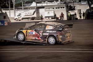 Mundial de Rally Guanajuato México 2018 etapa pista auto mumero 1 piloto Sebastian Ogier