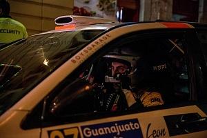 Mundial de Rally Guanajuato México 2018 salida de pilotos