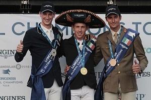 Scott Brash montando a Ursula XII, se proclama campeón del Longines Global Champion Tour México 2018 Primeros Lugares
