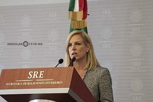 Secretaria de Seguridad Interna de los Estados Unidos, Kirstjen Nielsen en la Ciudad de México