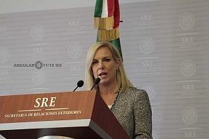Secretaria de Seguridad Interna de los Estados Unidos, Kirstjen Nielsen en visita de estado a la ciudad de México Marzo 2018
