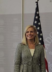 Secretaria de Seguridad Interna de los Estados Unidos, Kirstjen Nielsen en visita de estado en la ciudad de México 2