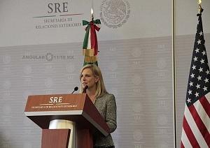 Secretaria de Seguridad Interna de los Estados Unidos, Kirstjen Nielsen en visita de estado en la ciudad de México