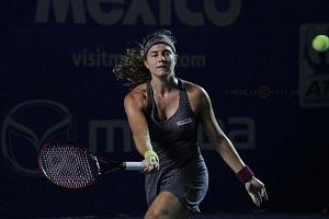 Stefanie Voegele finalista del Abierto Mexicano de Acapulco 2018 en la Final