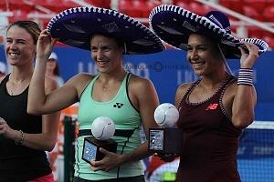 Tatjana Maria y Heather Watson se proclamaron campeonas del abierto mexicano 2018 1