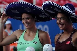 Tatjana Maria y Heather Watson se proclamaron campeonas del abierto mexicano 2018
