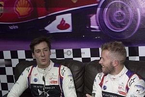 Virgin racing de Fórmula E; presento a sus pilotos Alexander Lynn y Sam Bird exhibición