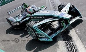 auto de la escuderia JAGUAR RACING en el E Prix de la Ciudad de México 2018 1