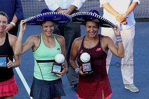 campeonas en dobles del abierto mexicano de Acapulco en su 25 aniversario