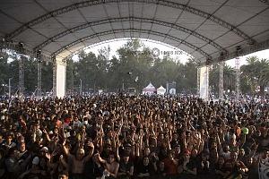 con un aforo aproximado a los 75 mil asistentes segun cifras de los organizadores se llevo a cabo el vive latino 2018