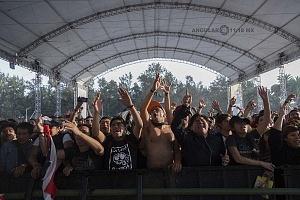 con un aforo aproximado a los 75 mil asistentes segun cifras de los organizadores se realizo el vive latino 2018