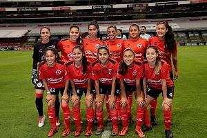 equipo titular Femenil de Tijuana en la jornada 12 del clausuro 2018